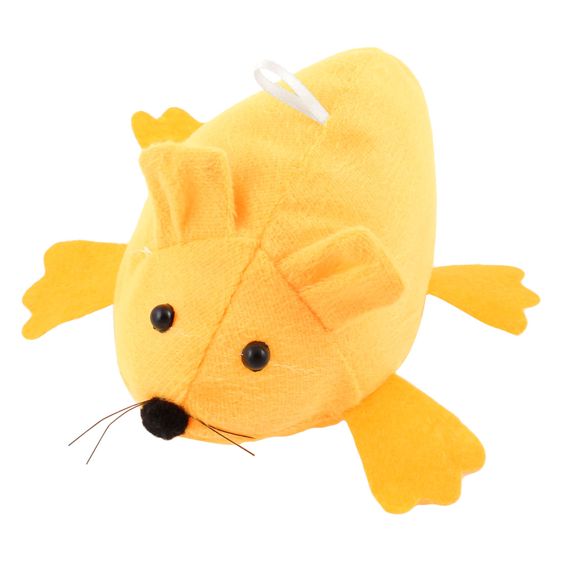Stuffed Cutton Orange Fleece Mouse Doll Toy for Children
