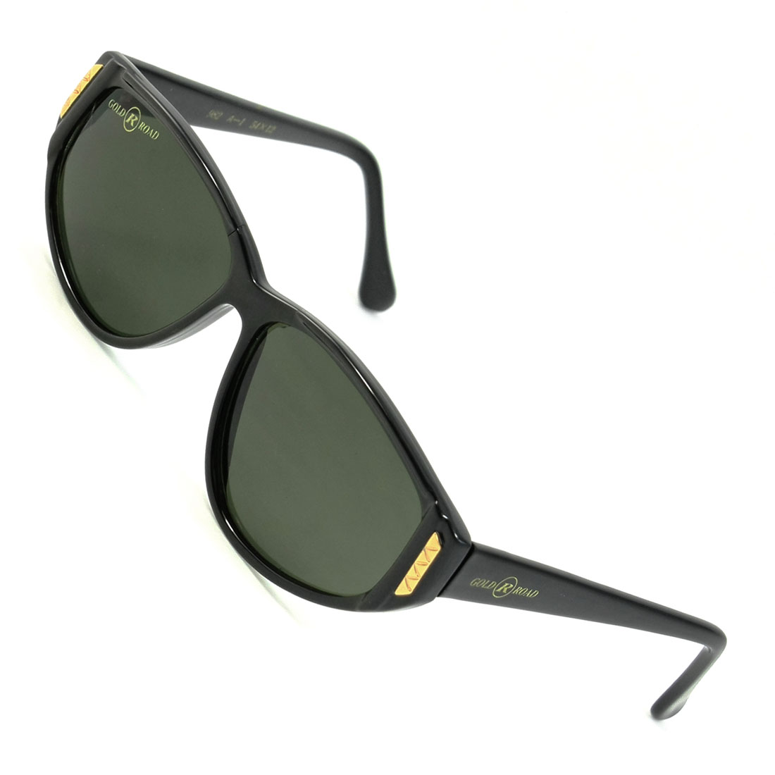 Outdoor Colored Waterdrop Lens Black Full Rim Frame Plastic Sunglasses for Woman