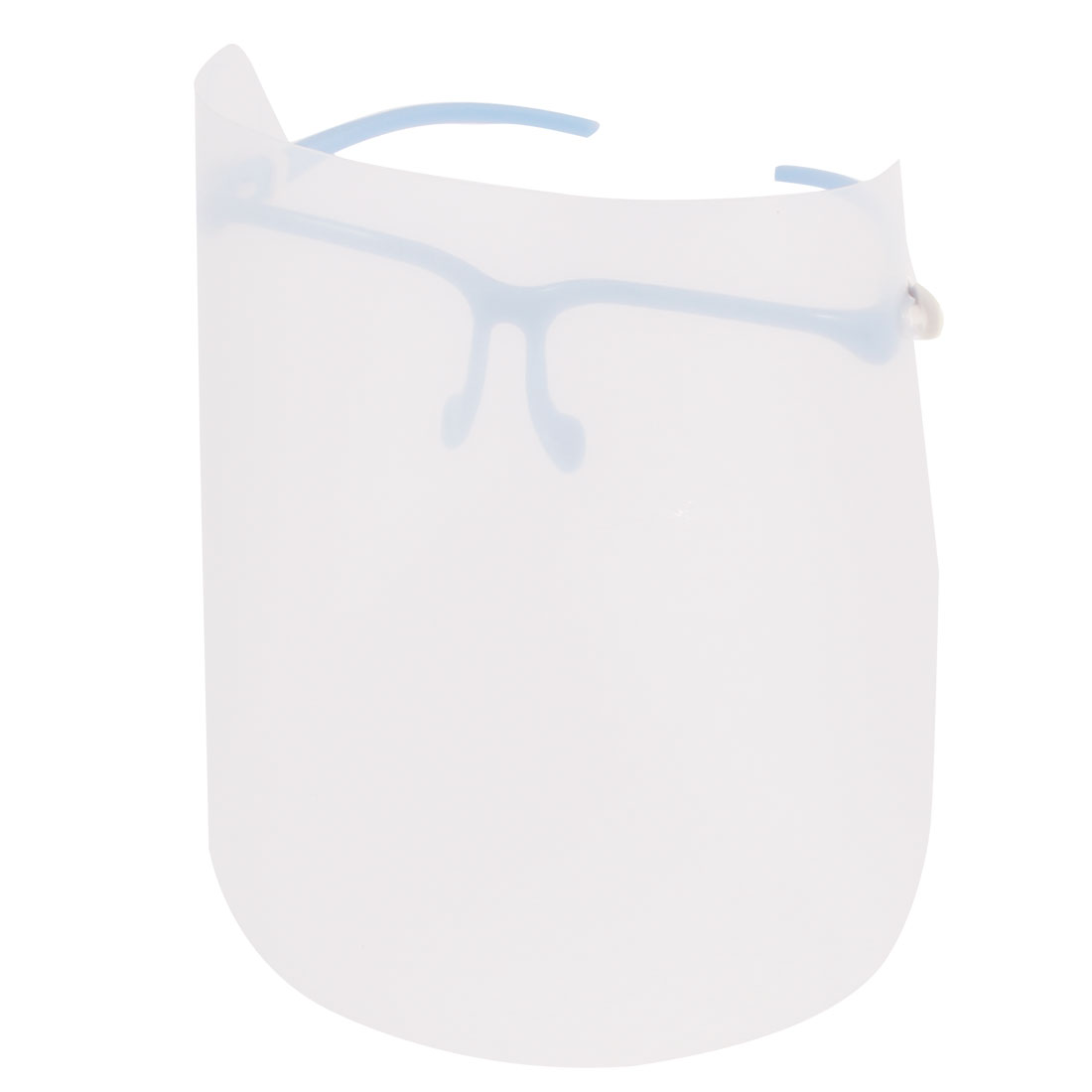 Housewife Cooking Light Blue Plastic Glasses Frame Anti-oil Greaseproof Splash Mask