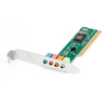 Replacement 4.1 Channels PCI Audio Sound Card Green for Computer PC