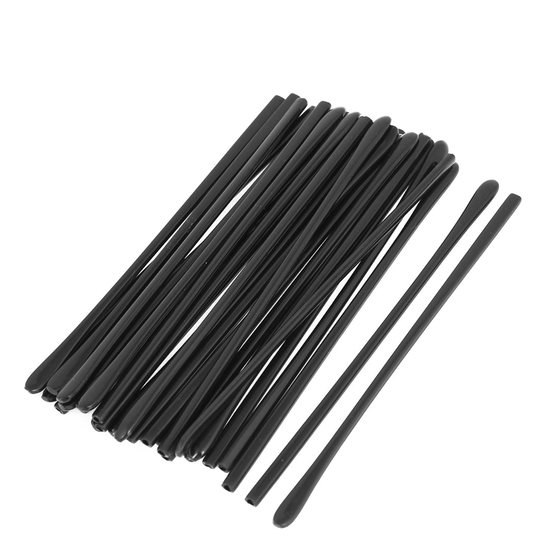 "30PCS Black 4.5"" Long Plastic Cap Covers Holder Support for Eyeglasses Arm Tip"