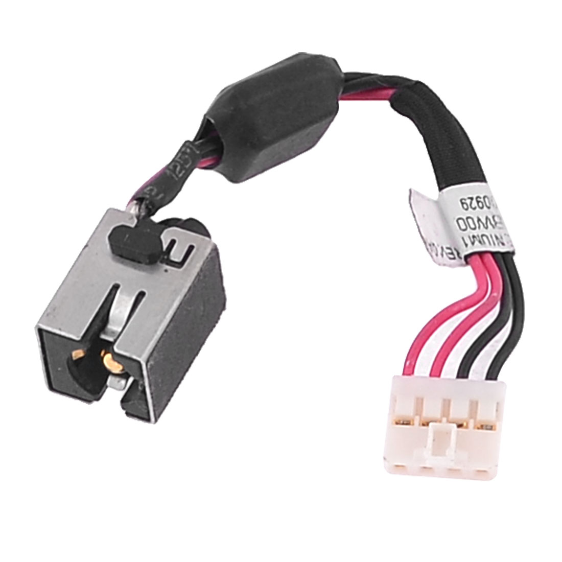 DC Power Jack Connector PJ461 w 4 Pins Cable for Notebook