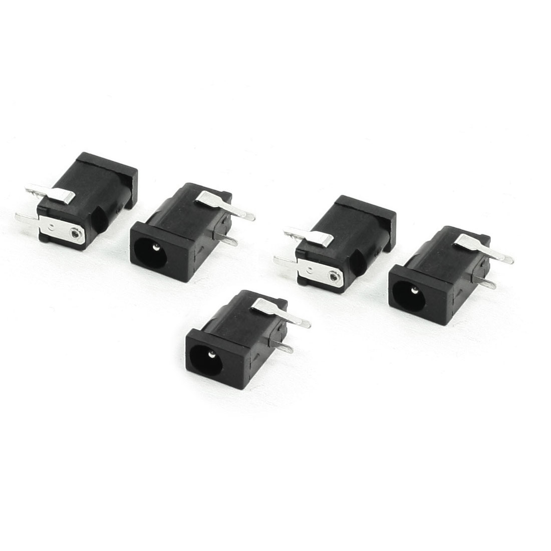 Right Angle 3 Pin DIP PCB Mount 3.5mm Stereo Jacks Connectors 5 pcs