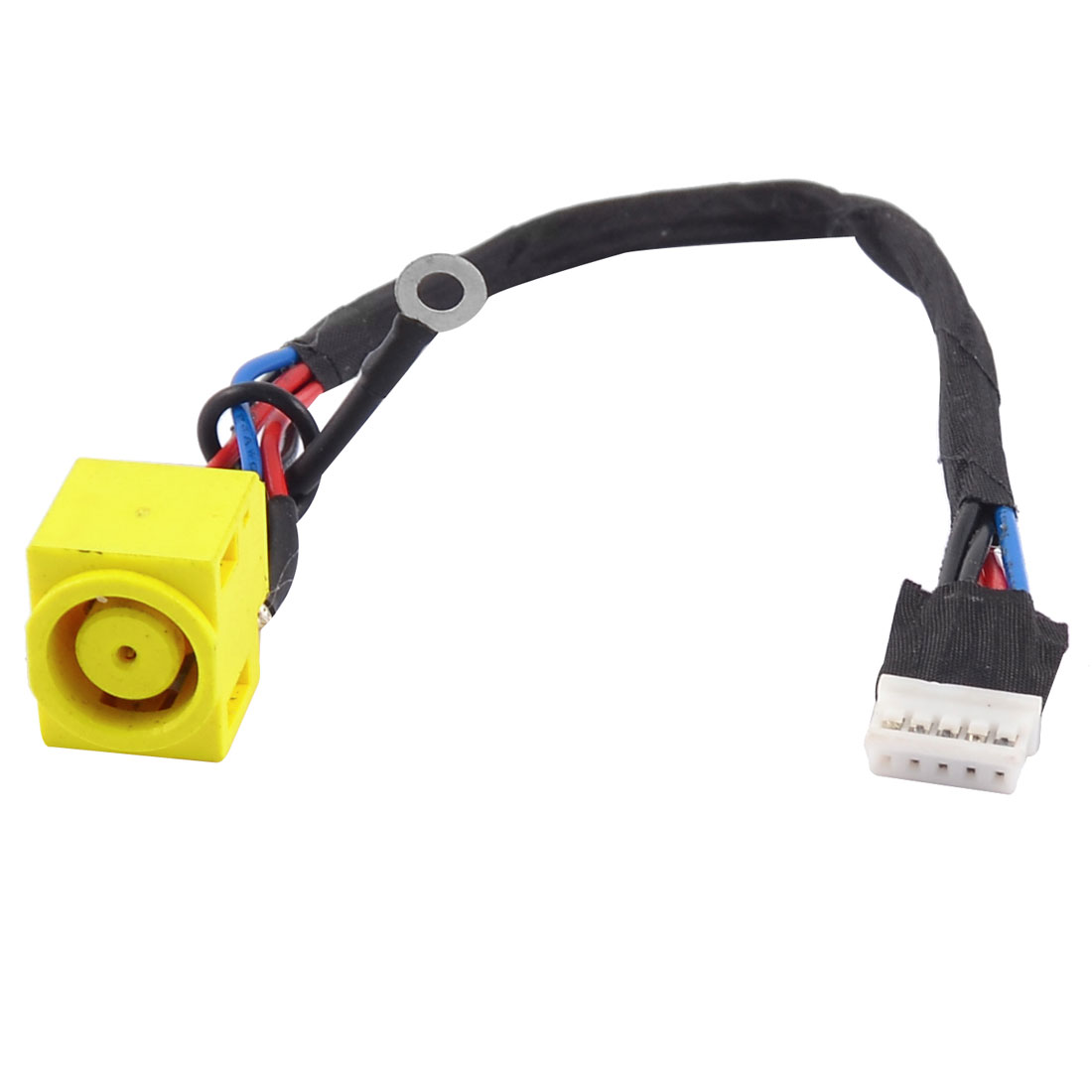 PJ243 DC Power Jack Connector w 5 Pins Cable for Laptops