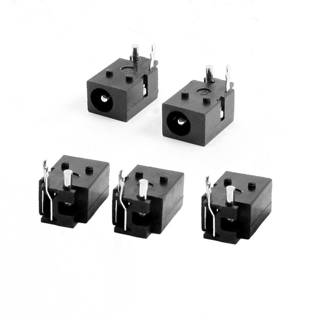 5 Pcs 3-Pole PCB Mount 3.5x1.5mm Stereo Jacks Socket Audio Connectors