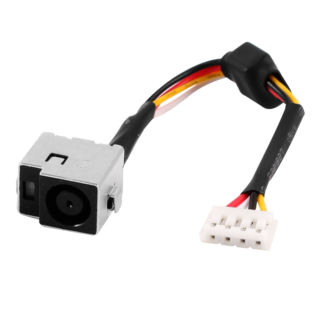 PJ118 DC Jack Power Socket w 4 Pins Cable for HP DV3 Laptops