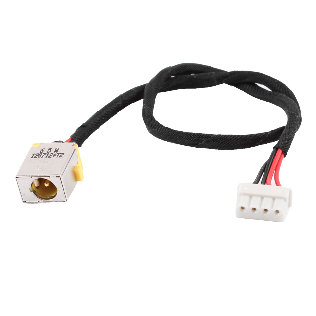 DC Power Jack Connector PJ217 w 4 Pins Cable for Acer Laptops