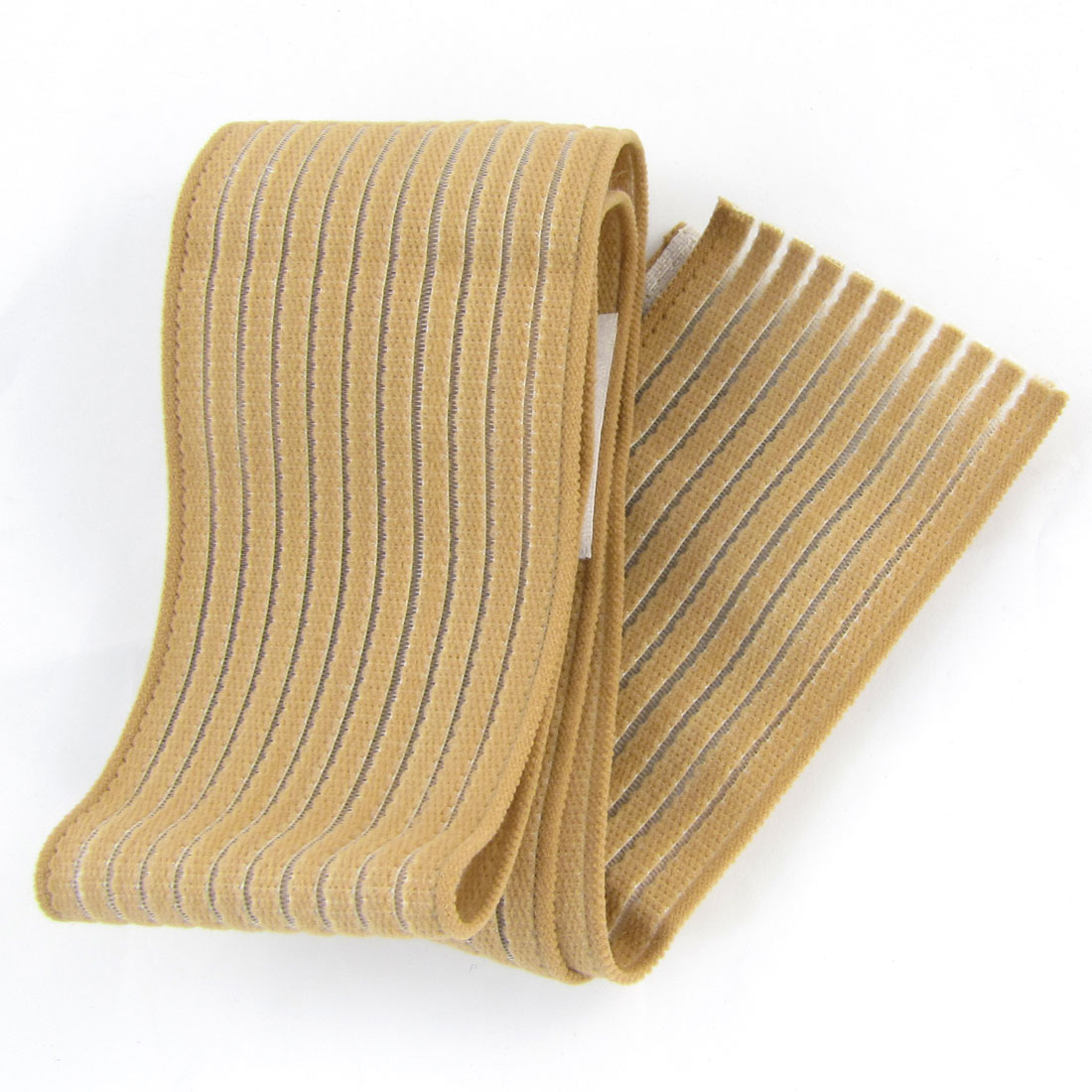 Brown Elastic Band Stretchy Fabric Athletic Sports Ankle Protector