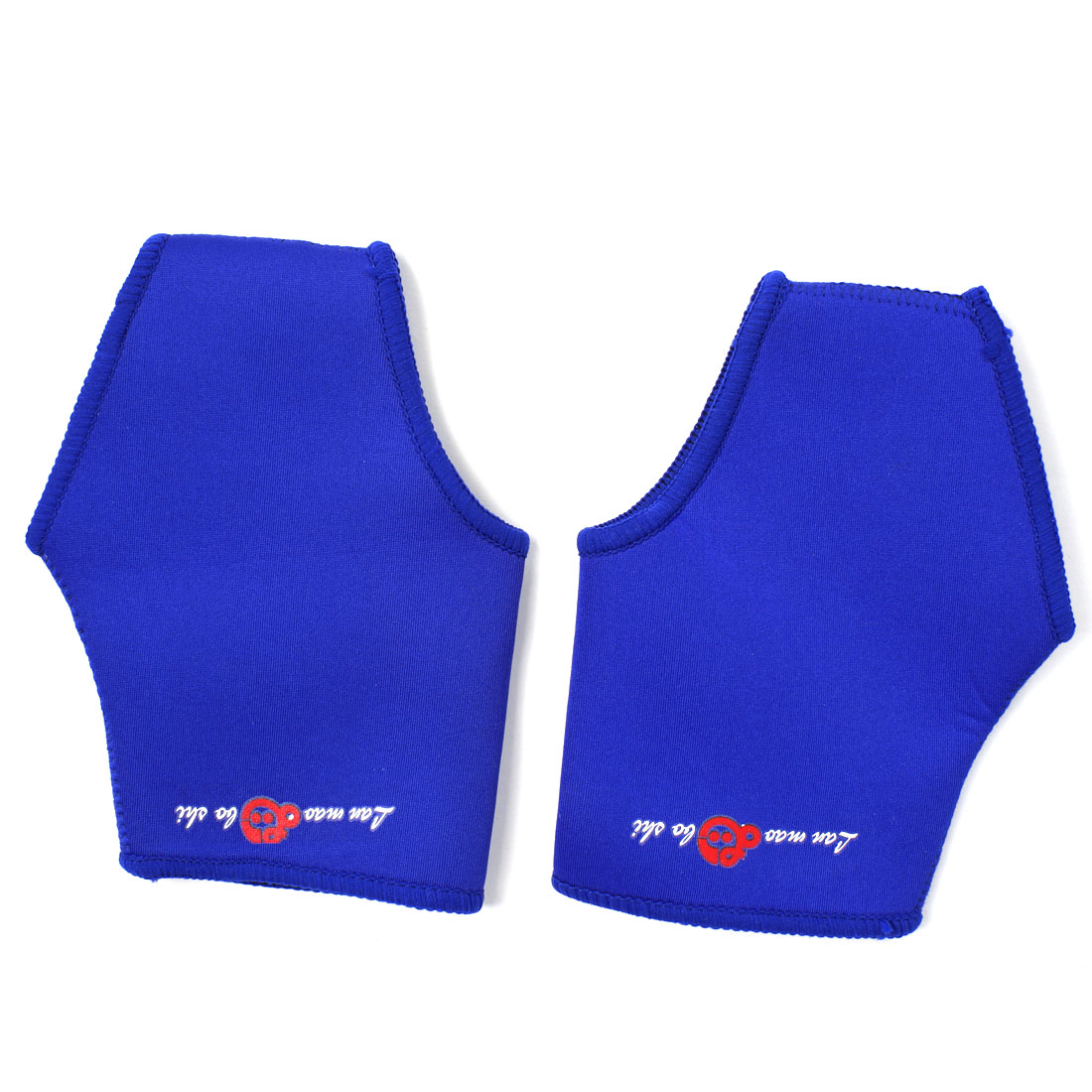 2 Pcs Blue Sports Elastic Neoprene Protector Ankle Support