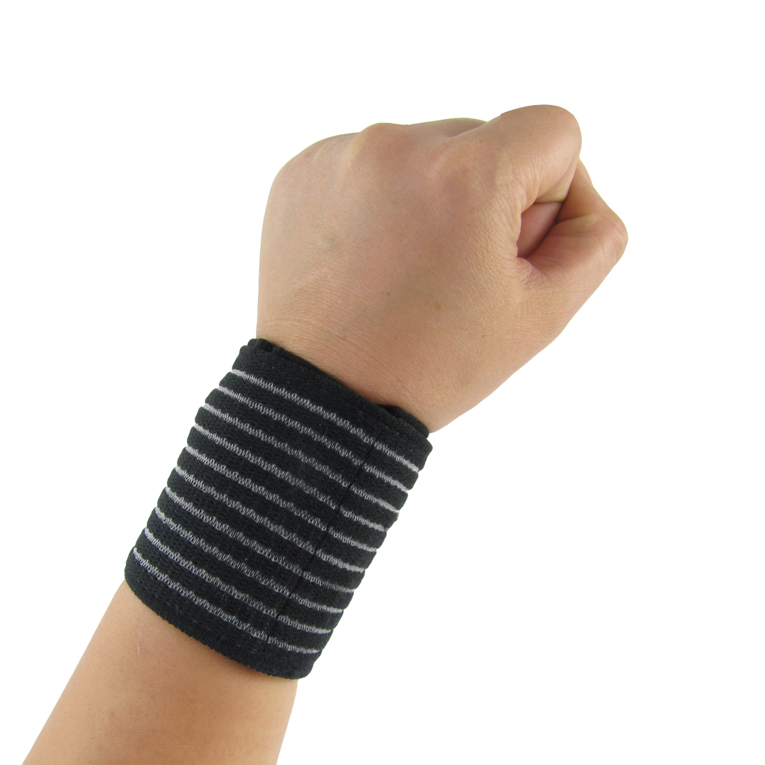 Detachable Wide Strap Band Elastic Wristband Wrist Support Protector