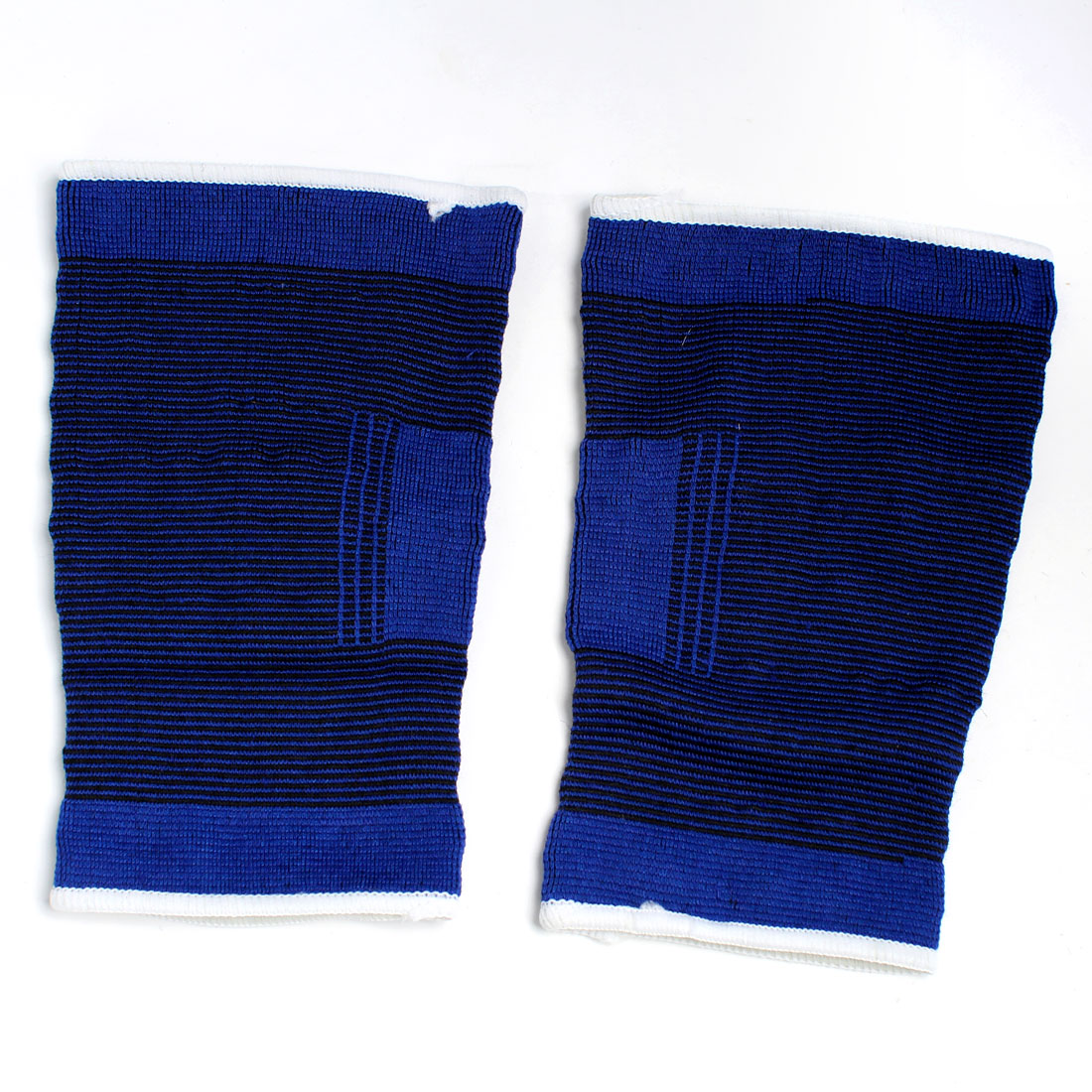 2 X Blue Elastic Stretchy Cotton Blend Band Sports Knee Protector