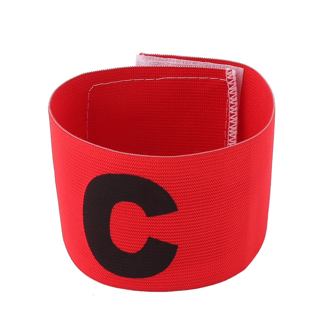 Obvious Symbol Nylon Captain Armband Red for Fooball Soccer Game