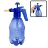 1.5L Pressure Chemical Sprayer Garden Plant Water Spray Bottle Clear Blue