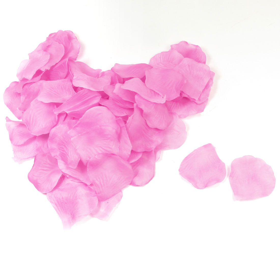 100 Pcs Wedding Bedroom Party Decor Artificial Fabric Rose Flower Petals Pinkish