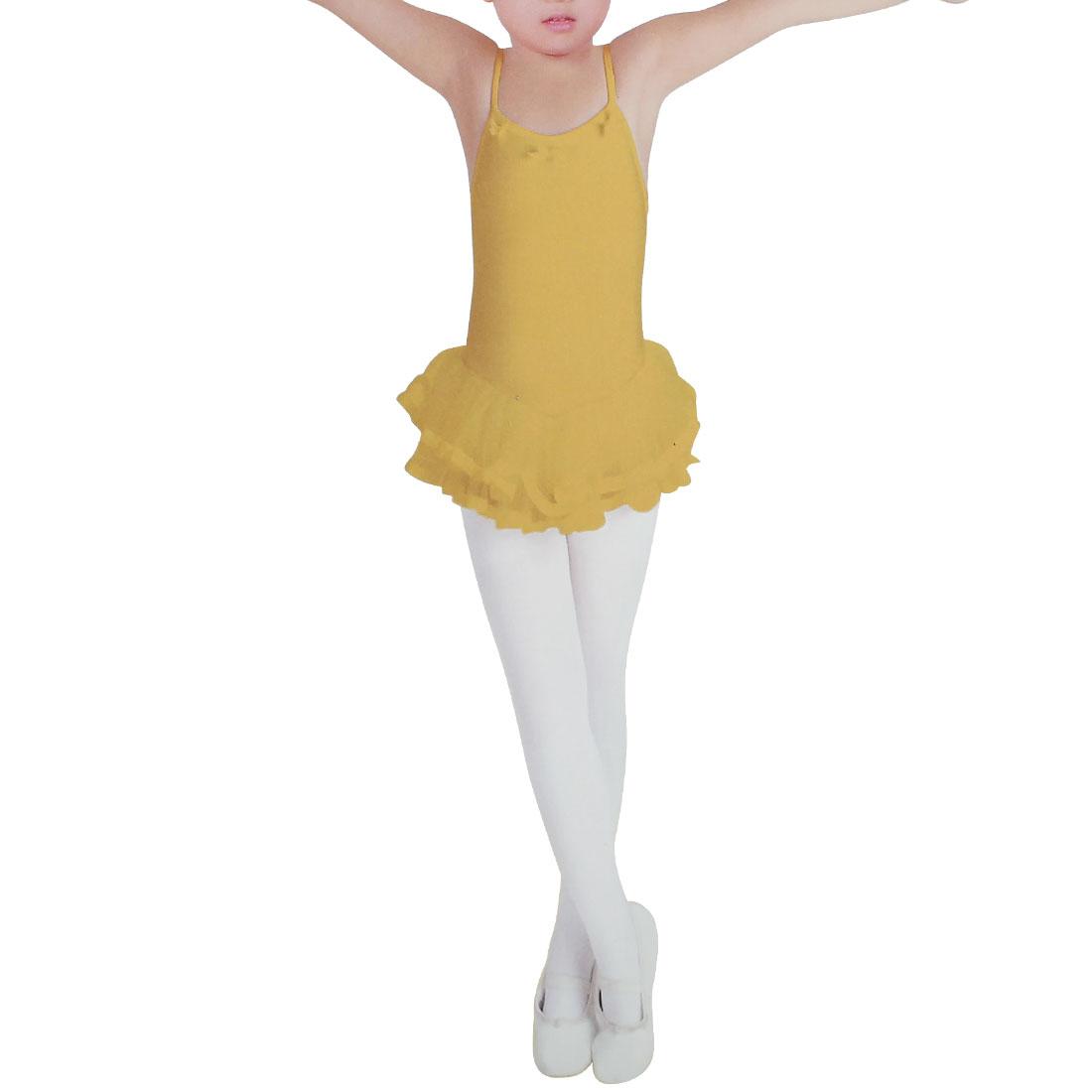 Toddler Ballet Dance Stretchy Slim Leggings Tights White S