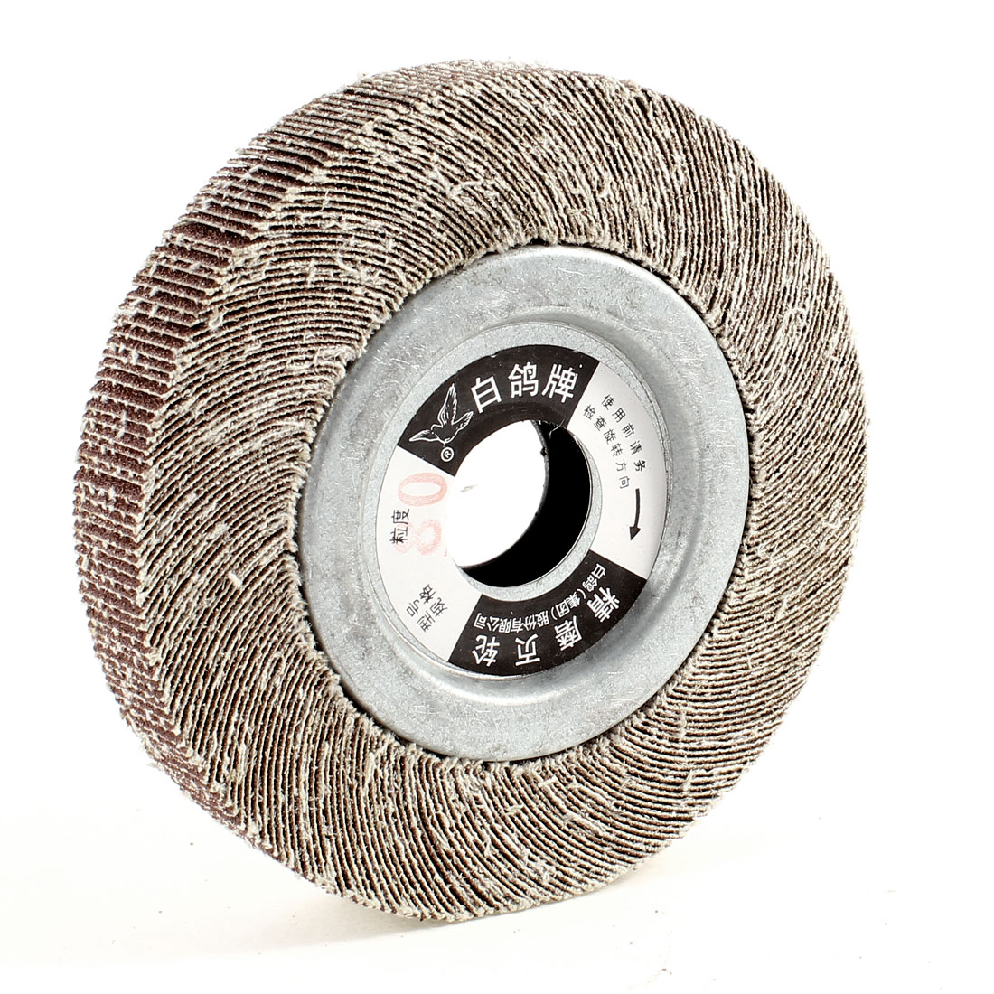 120mm x 25mm x 25mm Double Sides Abrasive Flap Disc Polishing Wheel