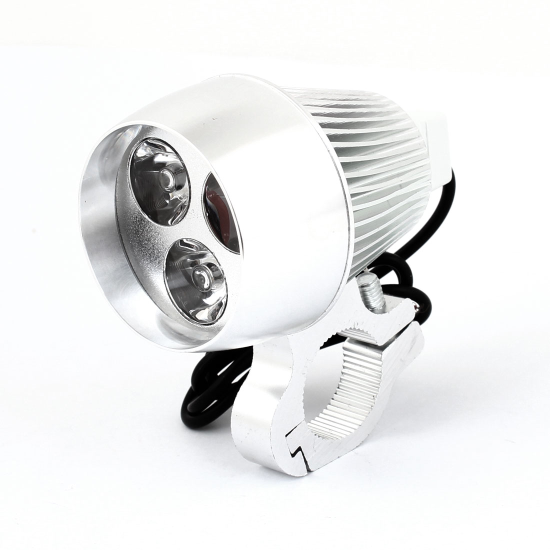 Motorcycle Aluminum Shell Blue 3 LED Dragon Eye Decorative Spot Light Lamp