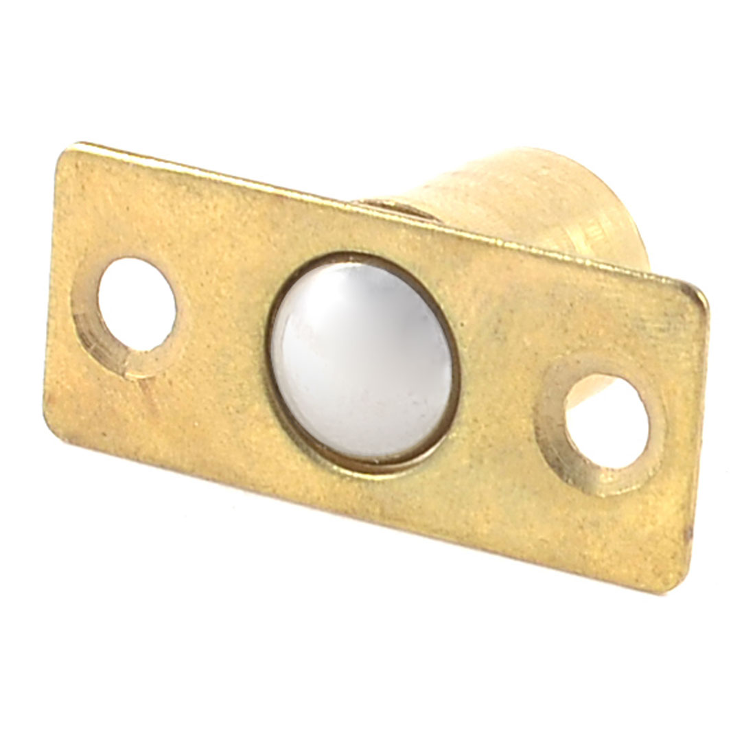 Gold Tone Hardware Closet Door Ball Catch Latch Catcher w Screws