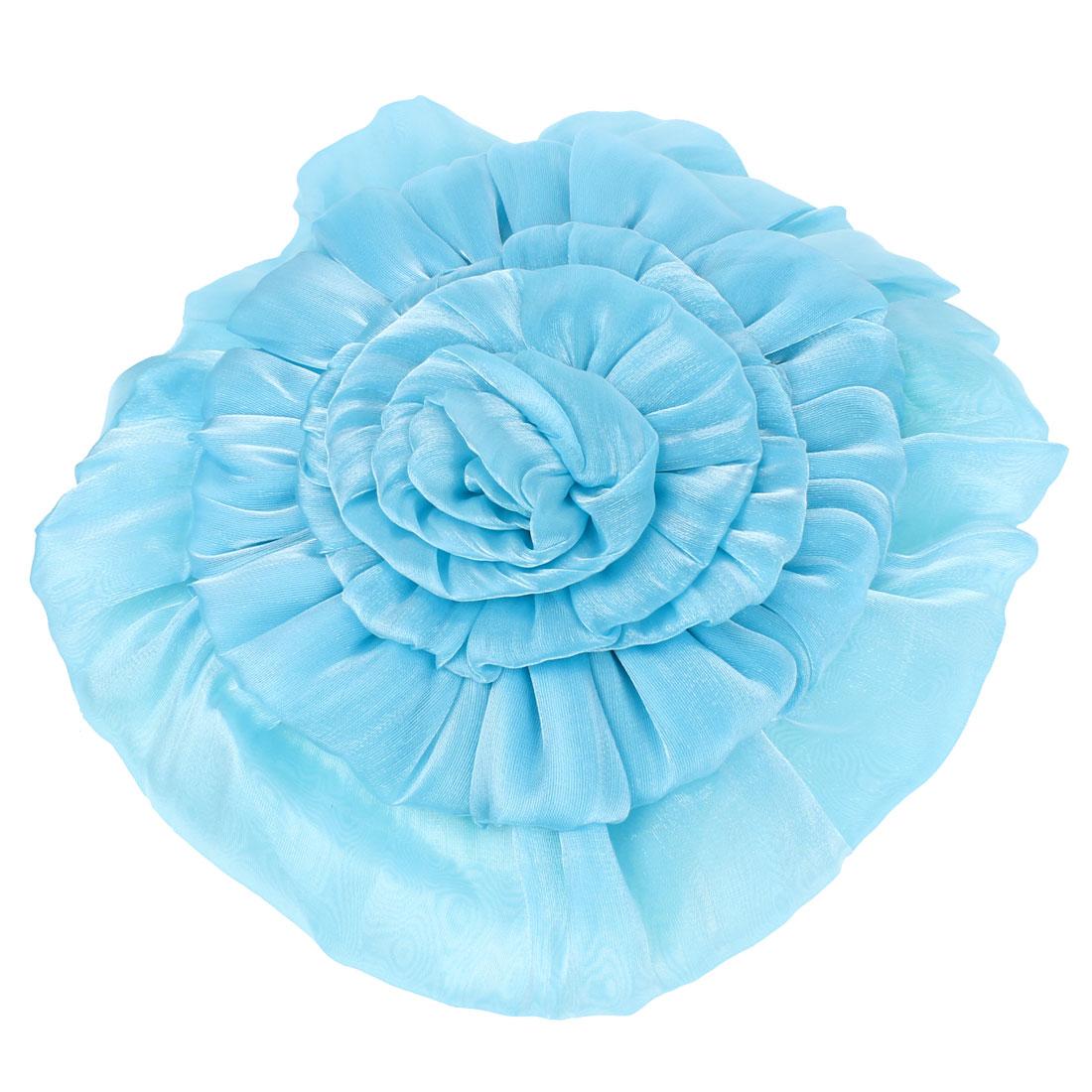 Blue Flower Decor Fragrant Bamboo Charcoal Bag Air Freshener for Car
