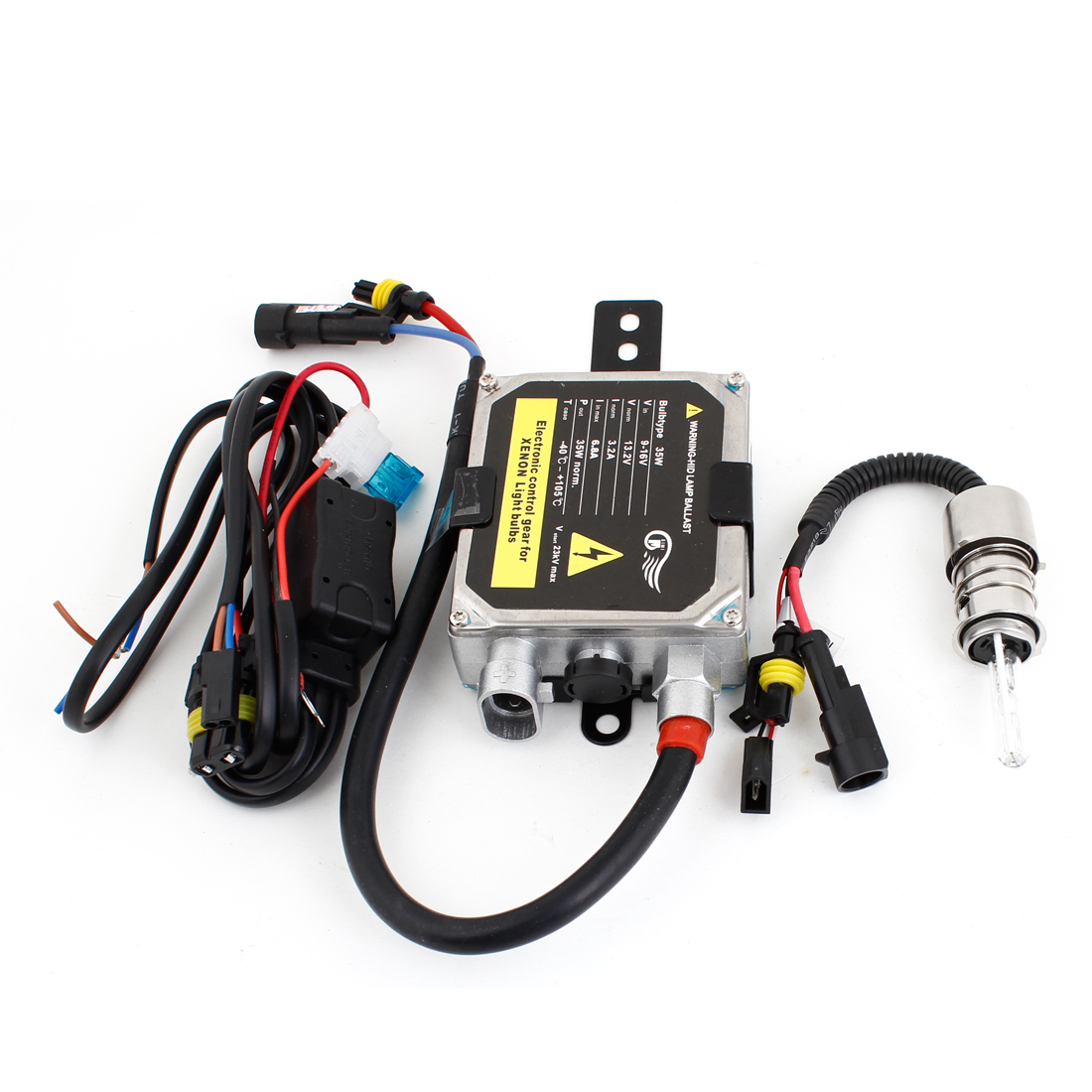 Motorcycle DC 12V 35W 8000K H6 HID Xenon Light Ballast Kit