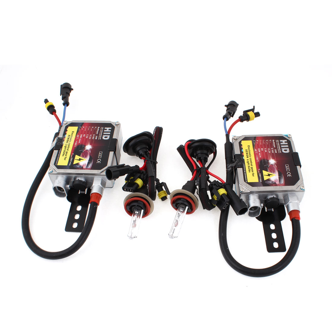 2pcs DC 12V 35W H11 6000K Car Xenon Light HID Conversion Kit w Ballast