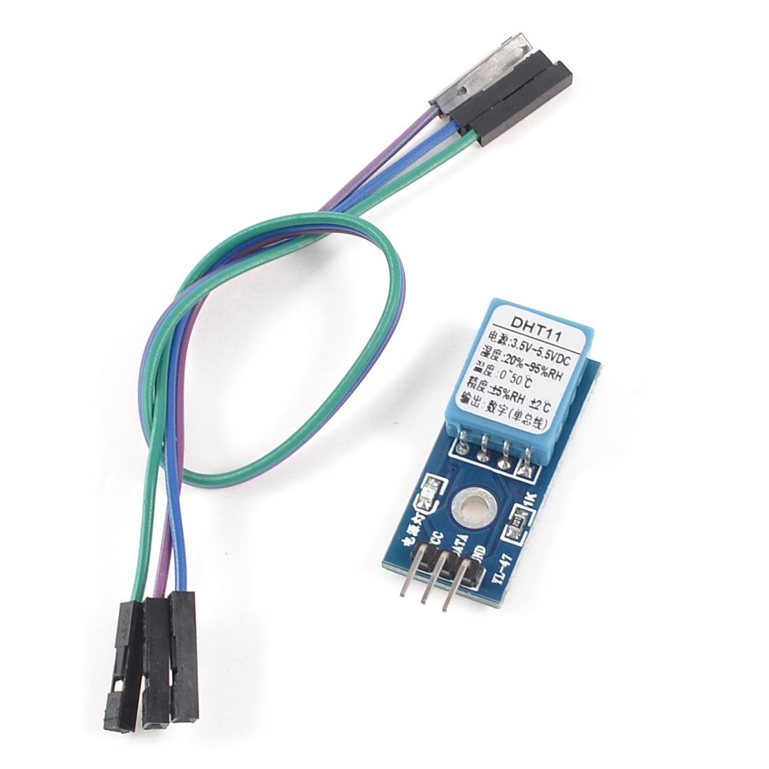 DHT11 Digital Temperature and Humidity Sensor Module Probe