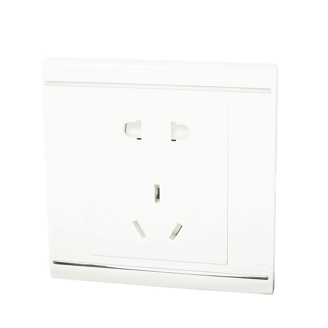 3 Pin AU 2 Pin US/ EU 250VAC 10A Wall Mounted Outlet Socket Plate White