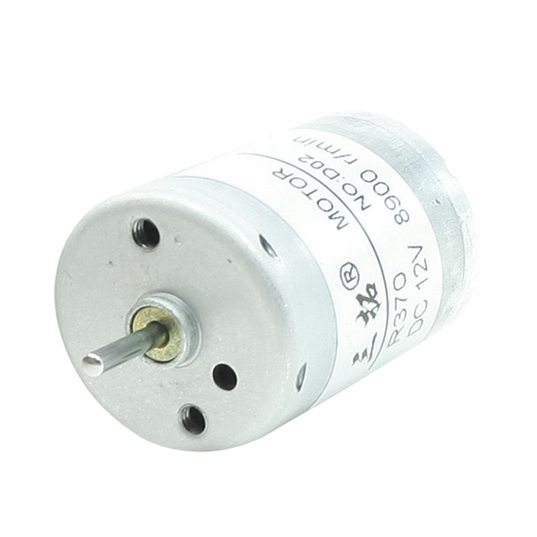 8900RPM 12V 2 Terminal Connector Cylindrical Micro DC Motor