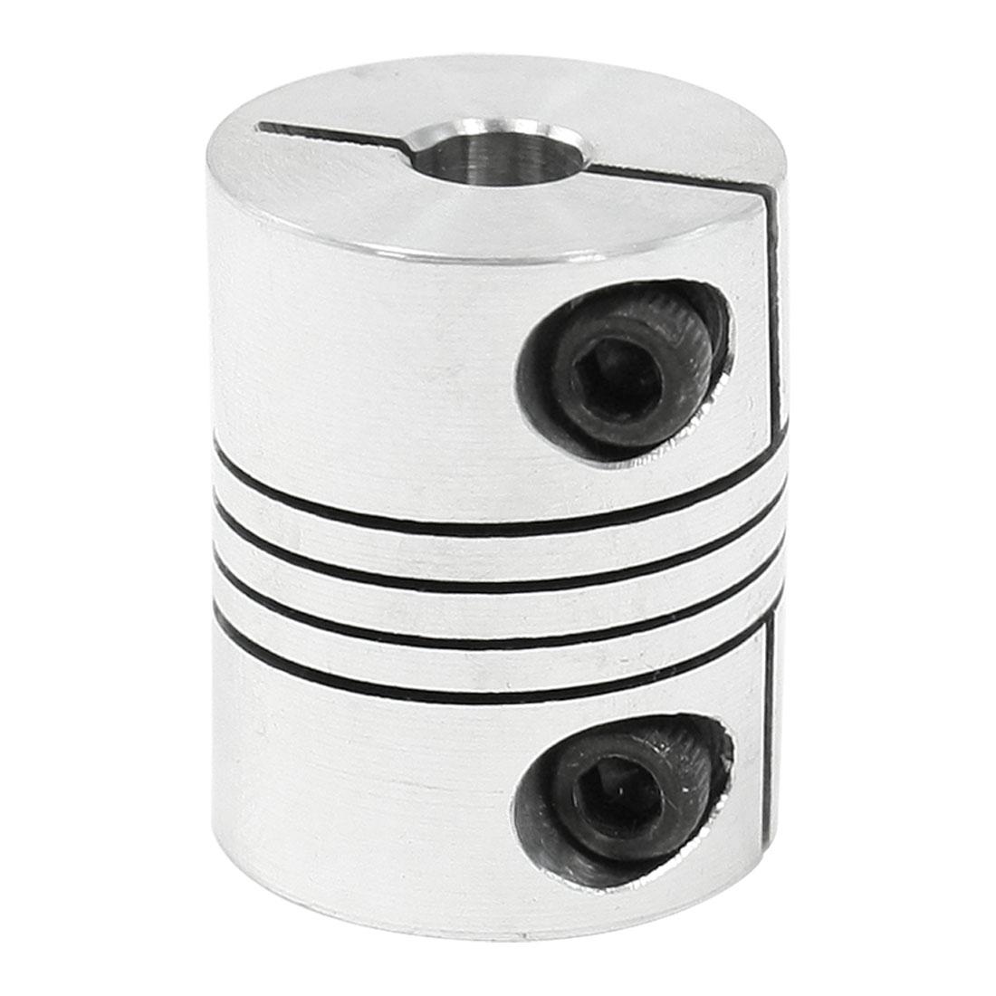 CNC Motor Shaft Coupler 6.35mm to 8mm Flexible Coupling 6.35x8mm