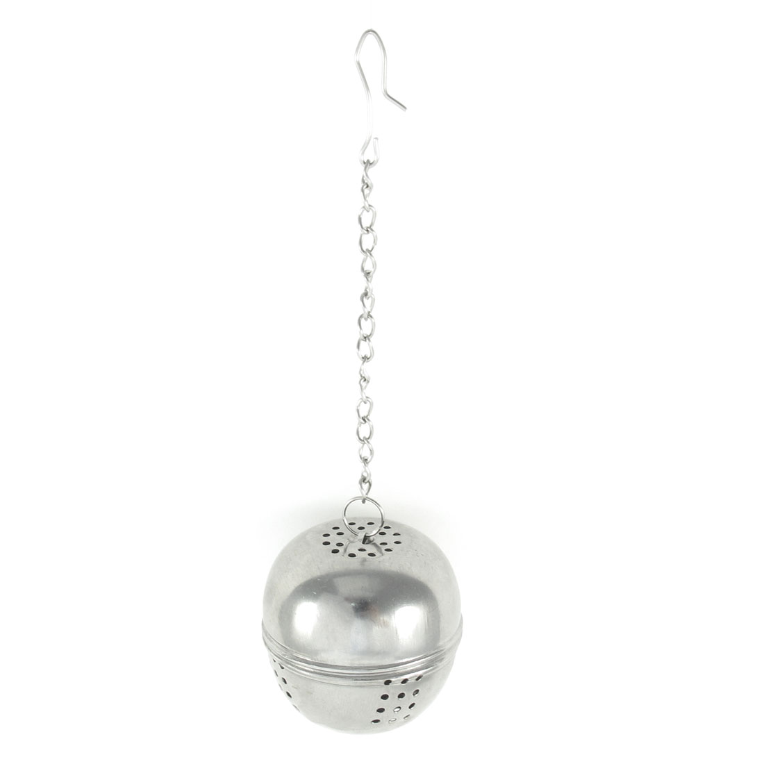 Stainless Steel Locking Chain 4cm Dia Ball Shaped Tea Infuser Strainer