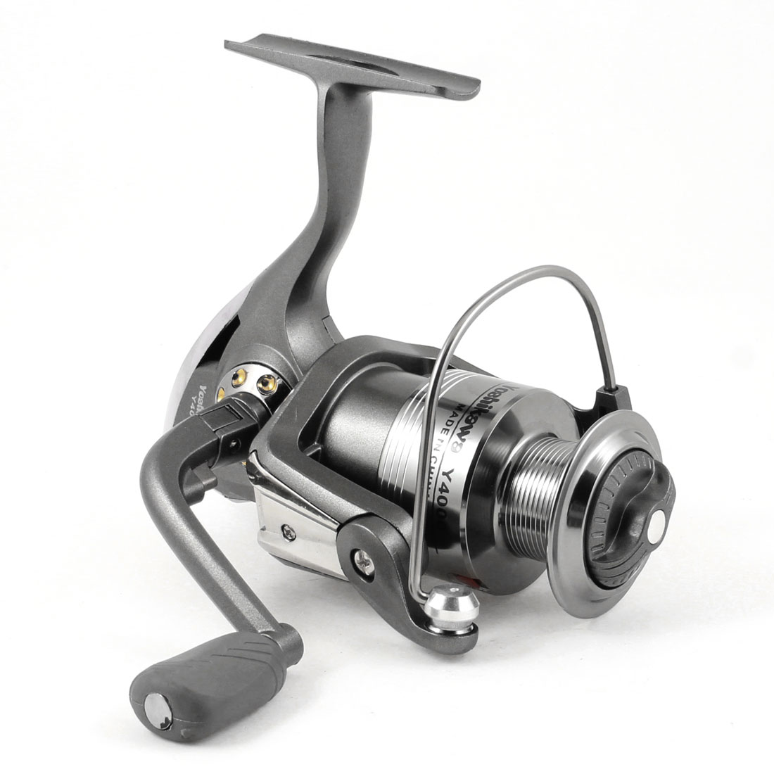 4.7:1 Gear Ratio 5 Ball Bearing Dark Gray Angling Fishing Spinning Reel