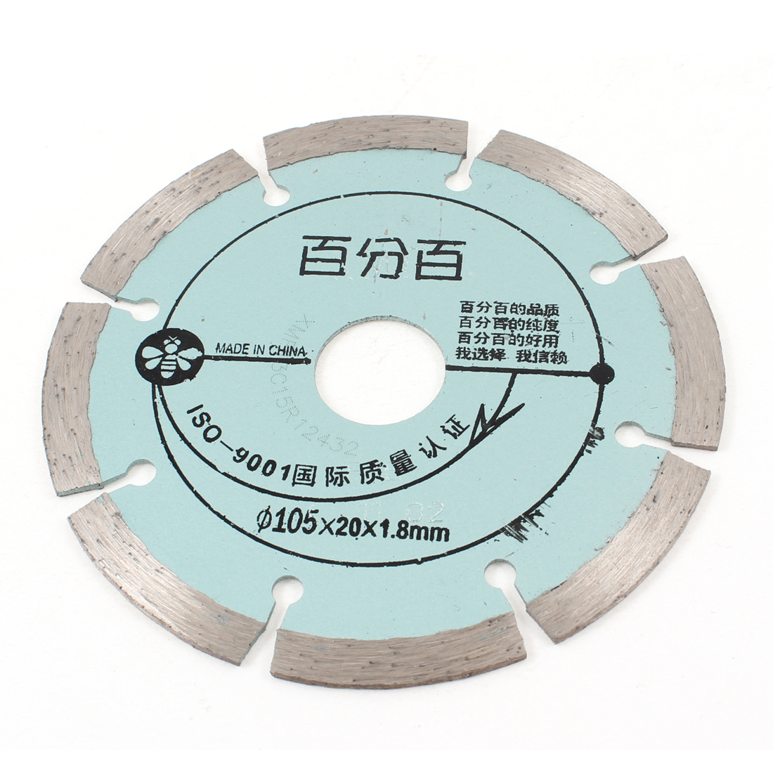 Granite Stone Cutting Wheel 105mm x 20mm x 1.8mm Diamond Disc Saw Slice