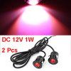 2 Pcs 1W Red LED Eagle Eye Reverse Tail Light Lamp for Car