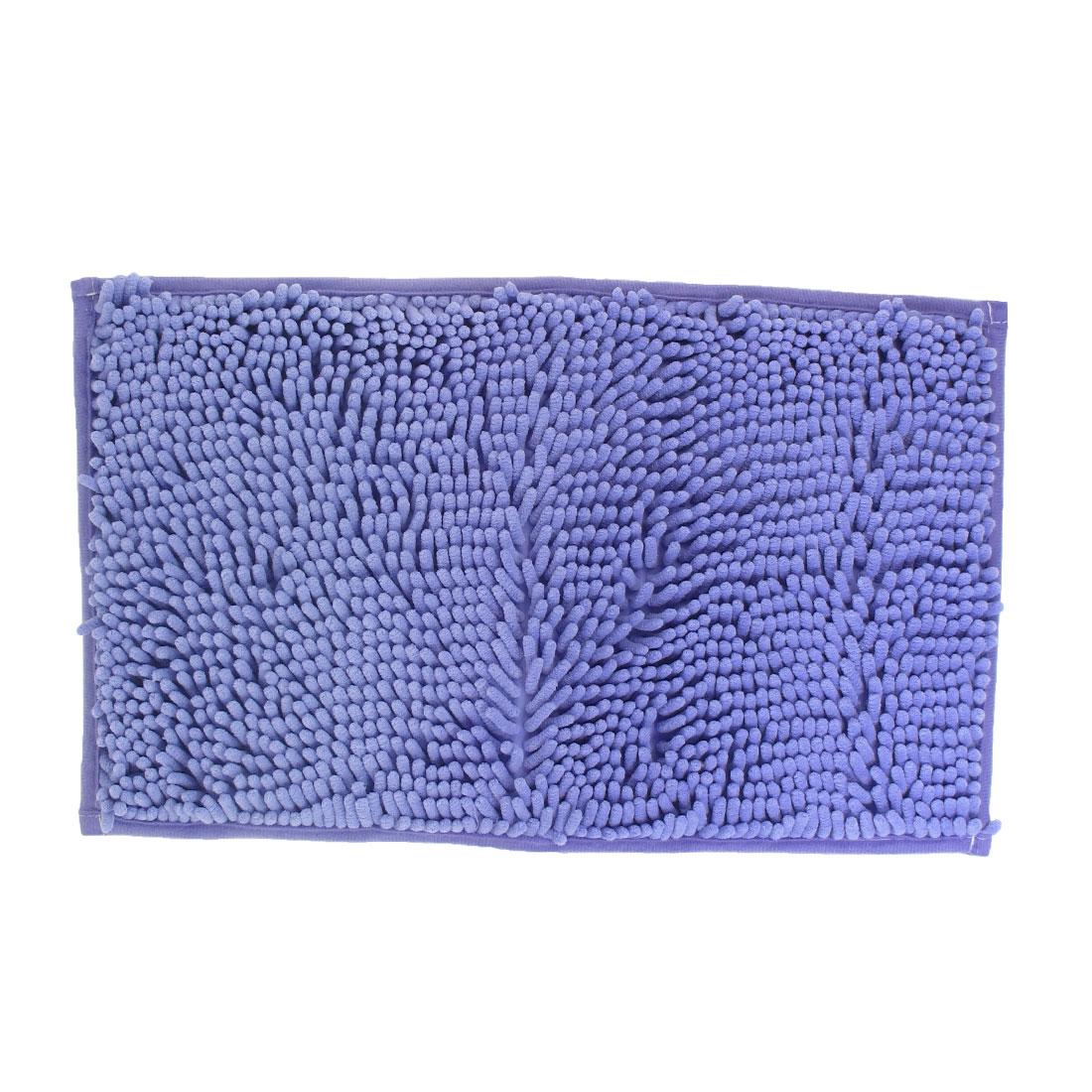 30cm x 50cm Rectangle Shape Light Purple Bedroom Hallway Nonslip Area Rug Carpet