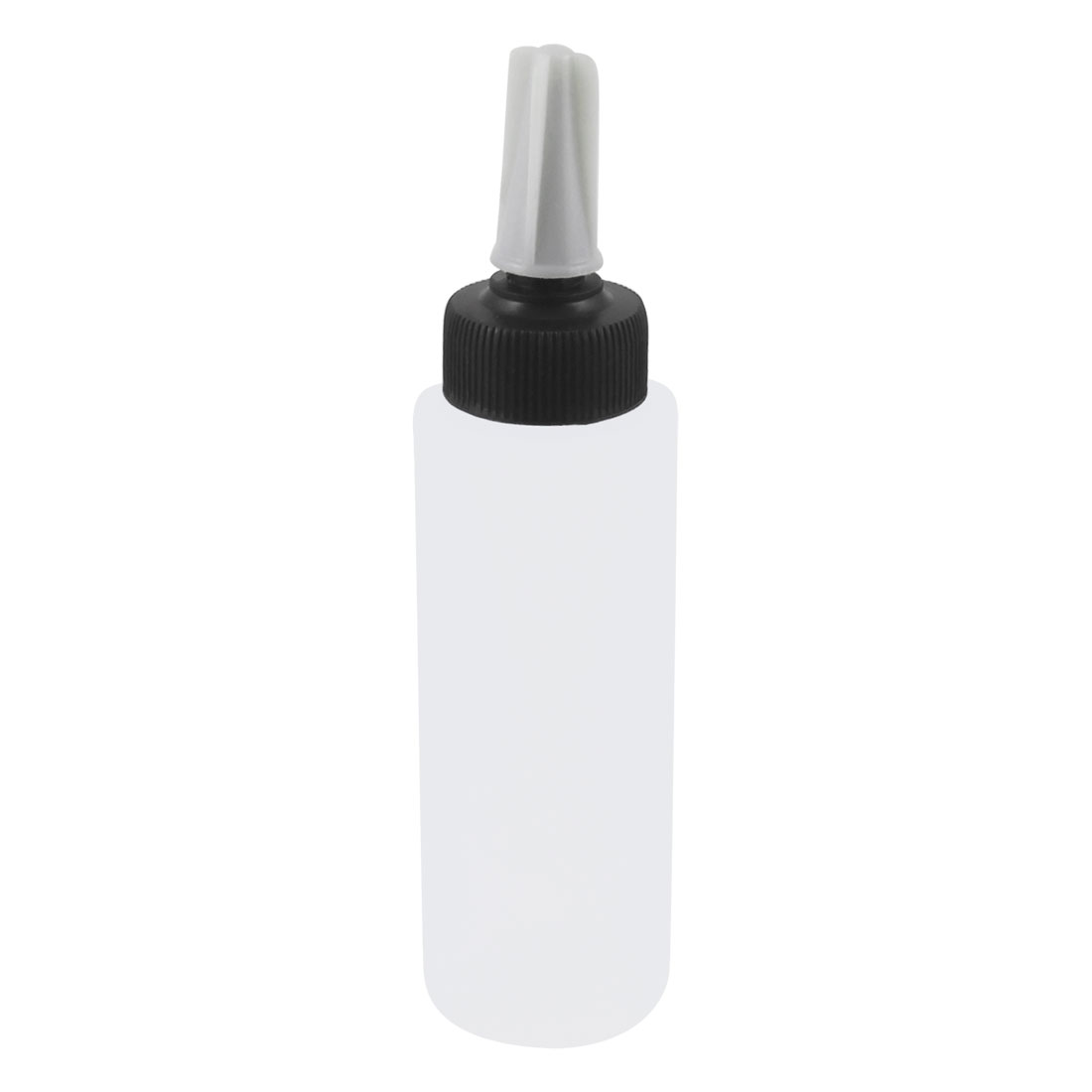 150ml 5OZ Cylinder Shape Clear White Plastic Water Holder Squeeze Bottle