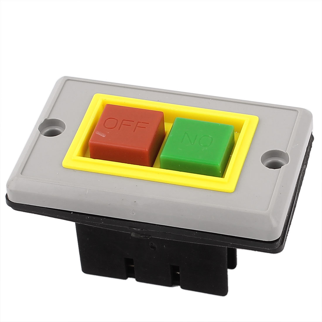 AC 380V 5A Panel Mounted On/Off Start Stop Push Button Switch