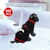 Warm Ghost Print Sleeveless Pet Dog Knitwear Knitted Sweater Dress Black XS