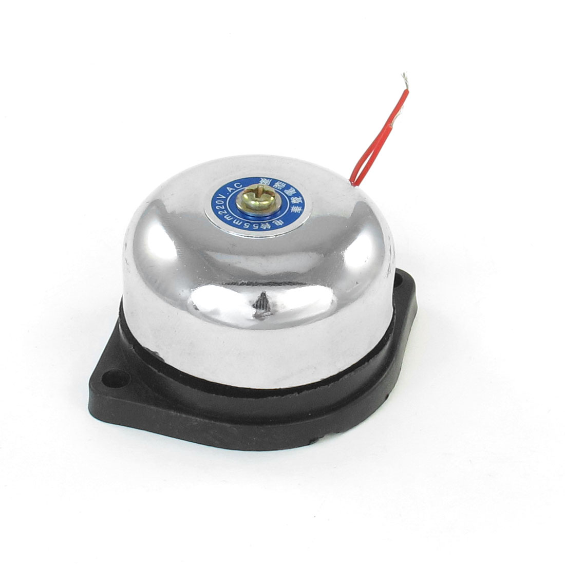 AC 220V Metal Shell Plastic Base Alarm Electric Sound Bell