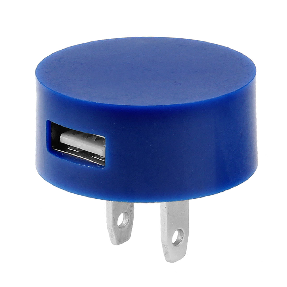 US Plug 100-240V Travel Blue Charger USB Port Power Adapter for Smart Phone