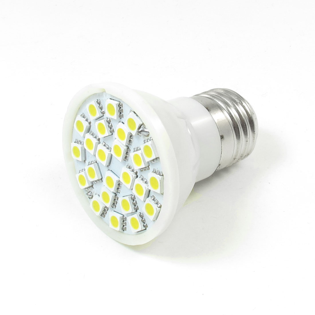 220V AC E27 24 SMD 5050 LED Spotlight Bulb Light Warm White