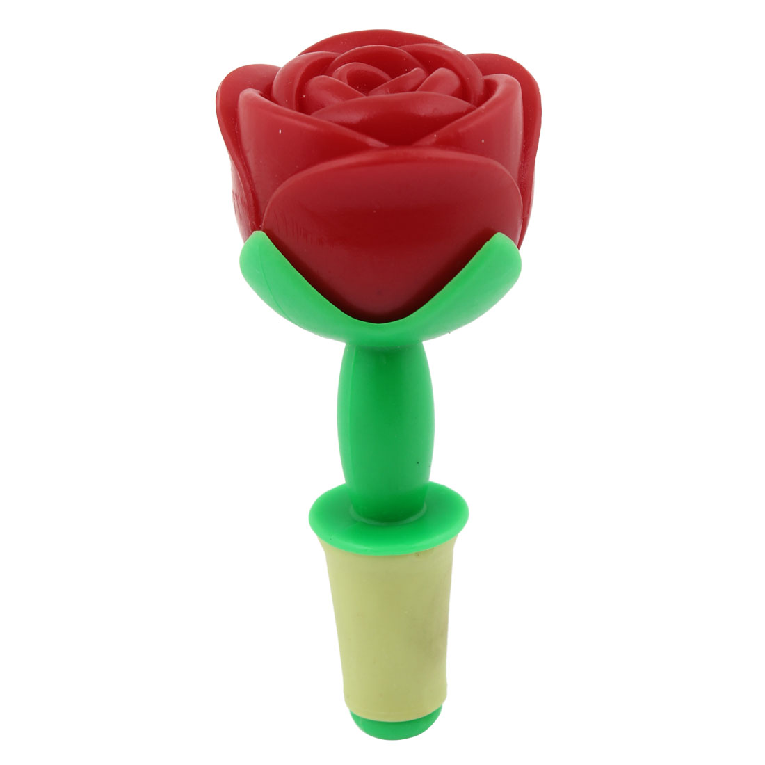 Home Barware Red Rose Shape Design Wine Bottle Stopper