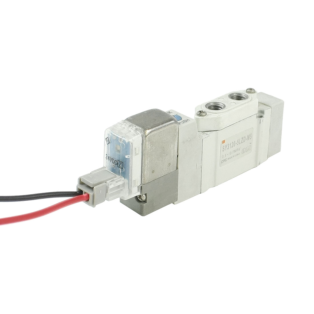 DC 24V 2 Positions 5 Port Solenoid Operated Valve SY3120-5LZD-M5