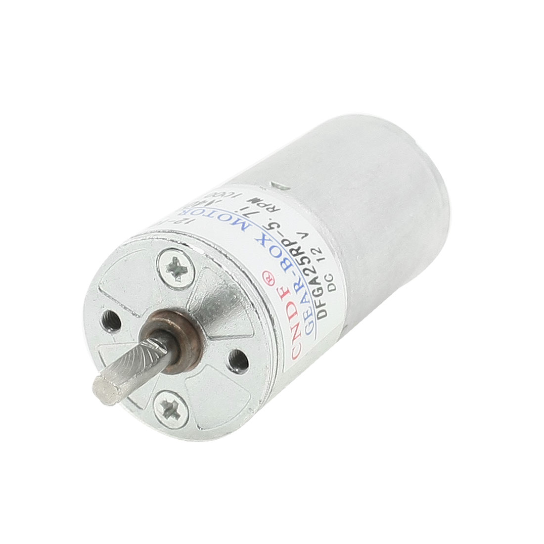 DC 12V 1000 RPM 4mm Dia Permanent Speed Reducing Geared Box Motor