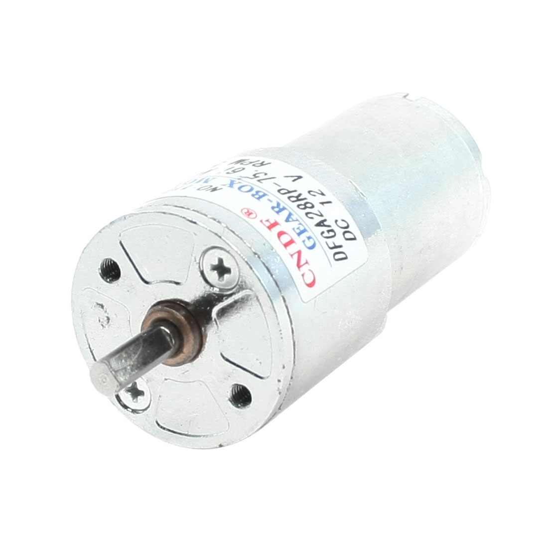 28mm Diameter Grill Electronic Parts Geared Motor 50RPM 12VDC