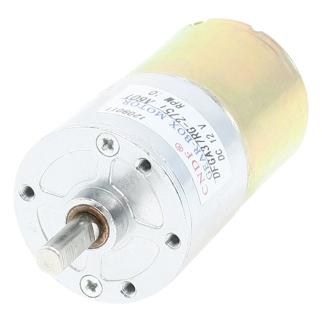 13.14kg.cm Torque Terminal Magnetic Gear Motor 10RPM 12V DC