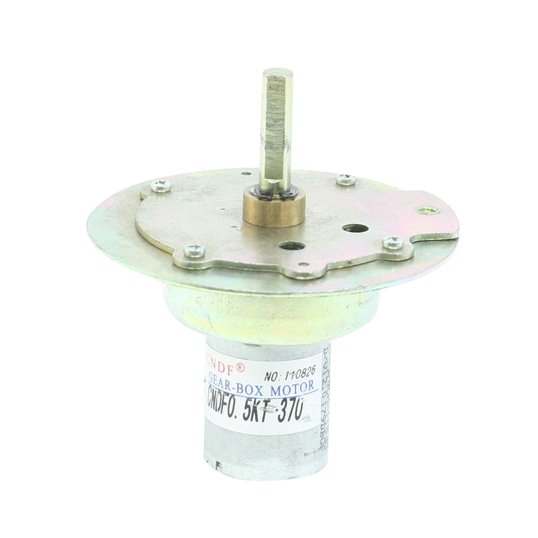 12VDC 150RPM Round Flange Electric Machine Rotated Geared Motor