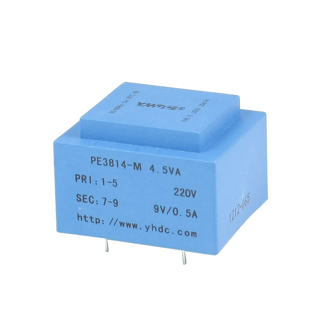 PE3814-M 4.5VA 50/60 Hz 9V Output PCB Mounting Encapsulated Transformer