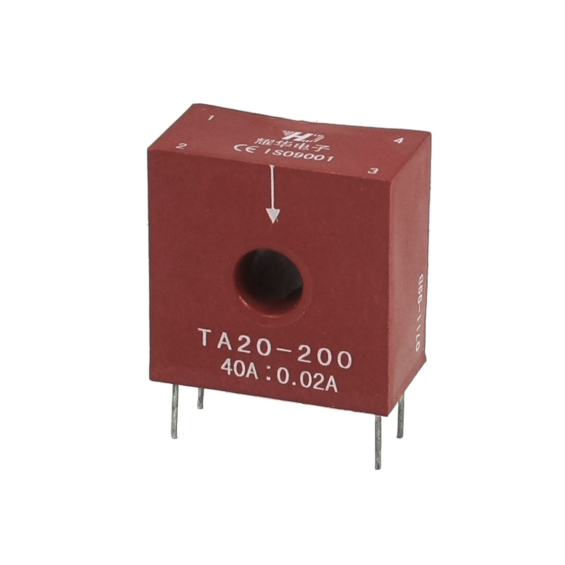 Ratio 2000:1 0-20A Input 0-20mA Output Current Transformer for PCB