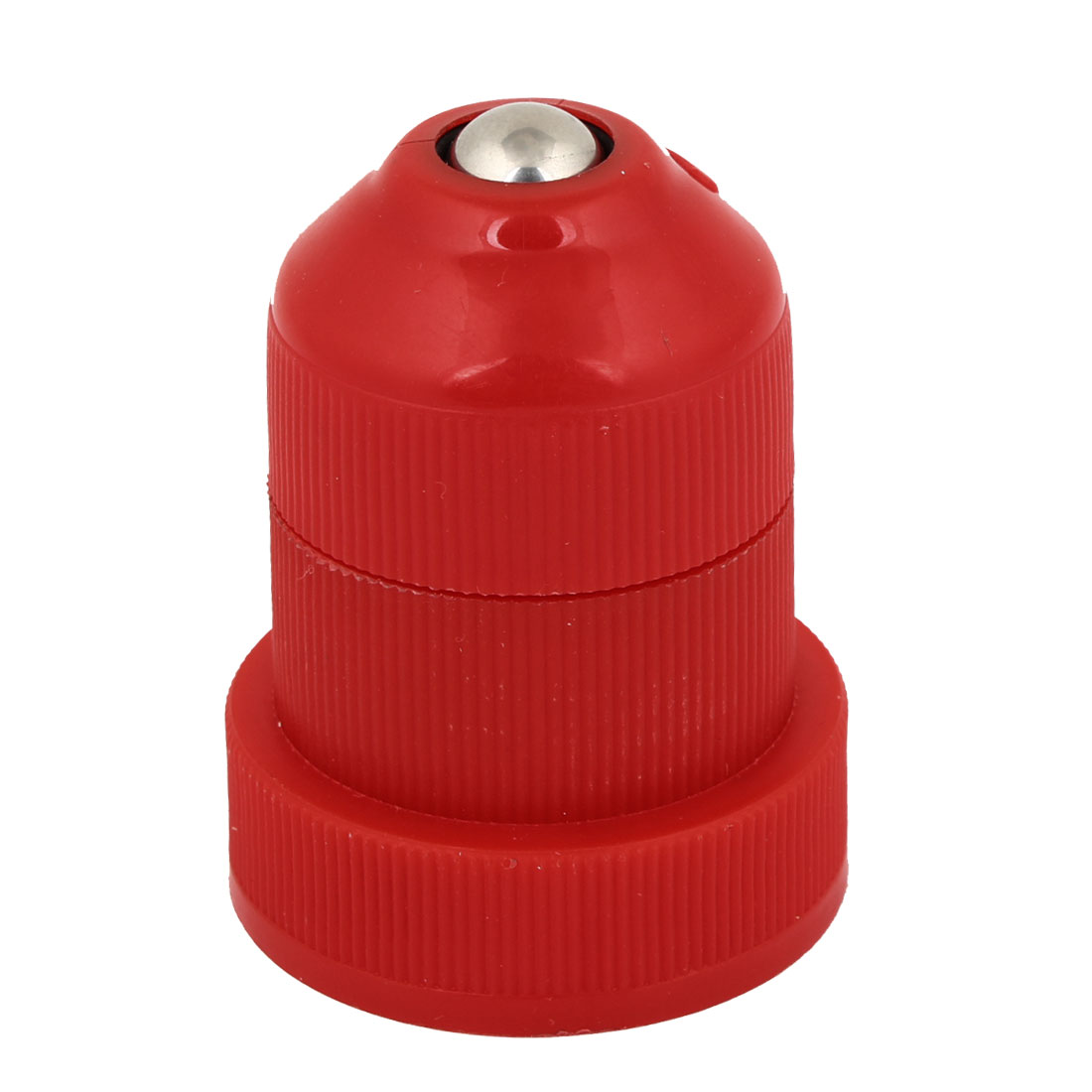 Red Plastic Pets Dog Cat Drinking Water Fountain Feeder Bottle Head