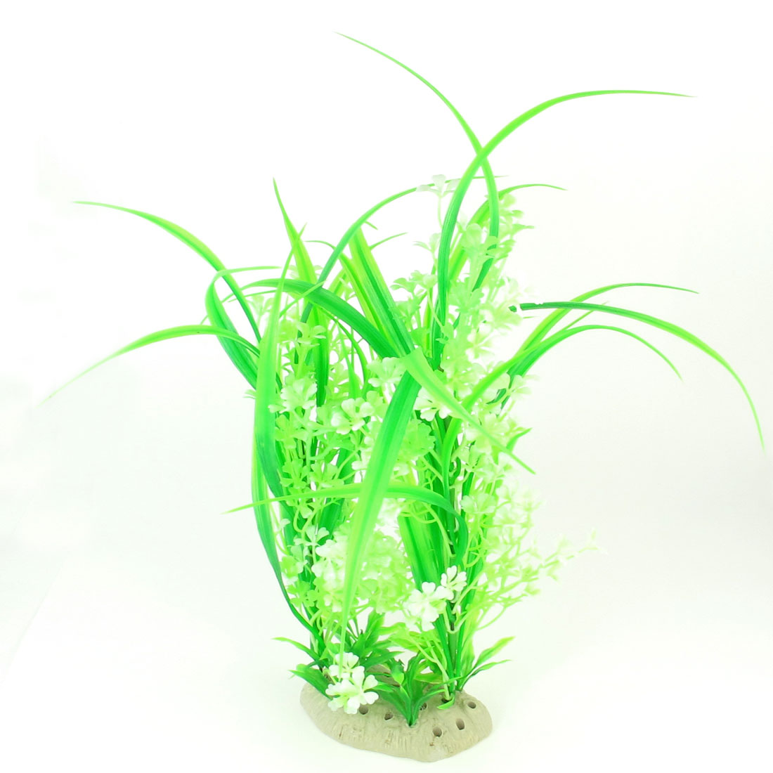 34cm Width Fish Tank Aquascaping Green Artificial Aquatic Grass Ornament